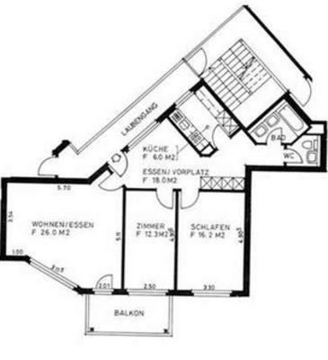 Grosszügige 3.5-Zimmer-Wohnung mit Balkon in Altstetten Zürich