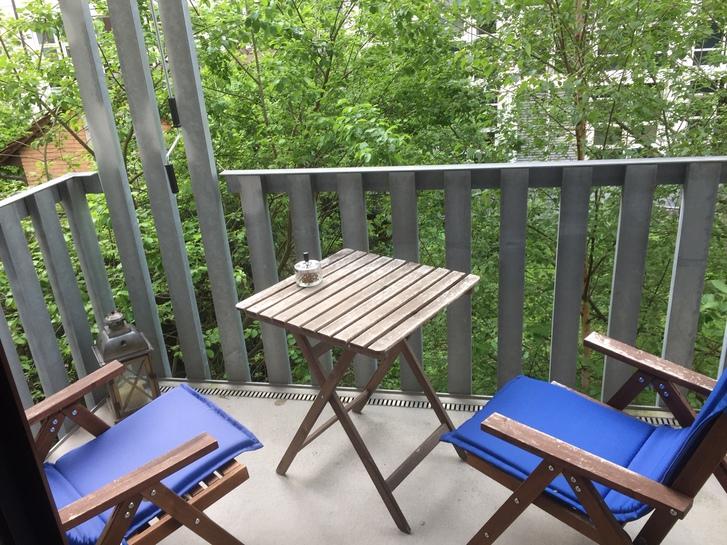 Möblierte 2 Zimmerwohnung beim Winterthurer HB 3