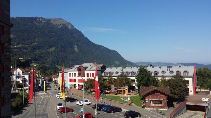 15m2 Raum in wunderschoenem Stilaltbau in Goldau, Fahzeit nach Zuerich HB 37 min, Zug 15min 6410 Goldau