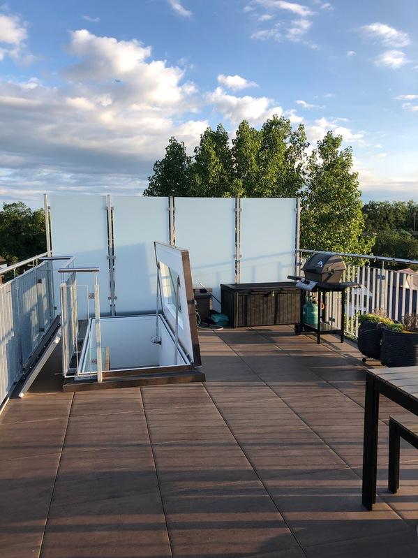 3.5 Zimmer Dachwohnung mit wunderschöner Dachterrasse 8180 Bülach