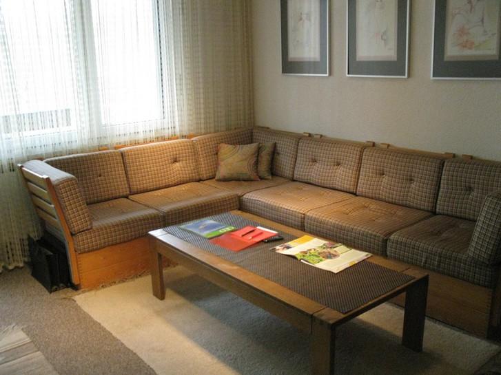 BARON grosse, helle 1.5 Zimmerwohnung mit zusätzlichem Zimmerchen mit 2 Betten 3954 Leukerbad