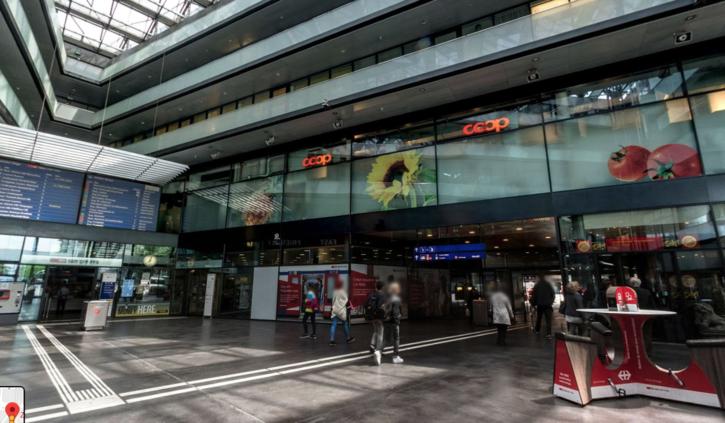 Zentral gelegenes Büro im Bahnhof Zug zu vermieten Zug
