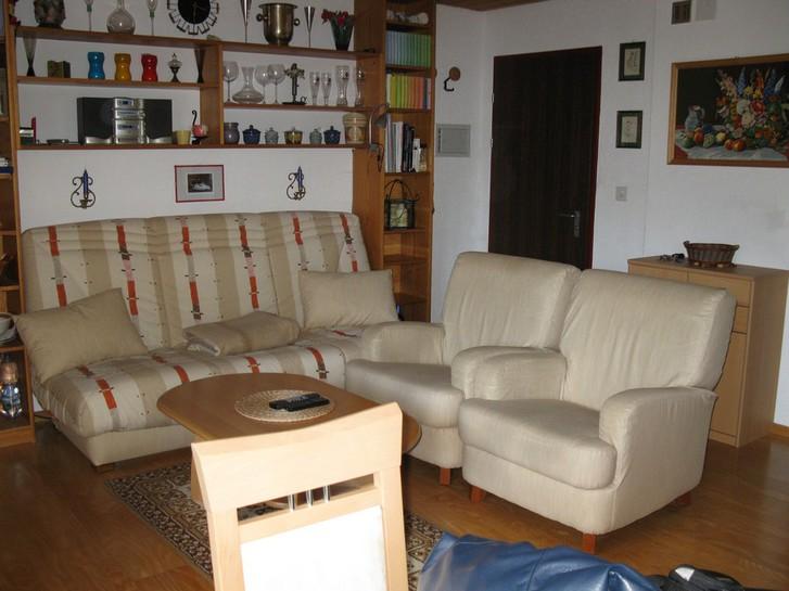 Haus Sandrina, helle Attika-Studiowohnung mit grosser Terrasse und Sauna im Haus 2