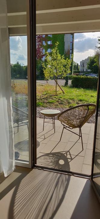Moderne und helle 2.5 Zimmerwohnung im Erdgeschoss Aarau Rohr