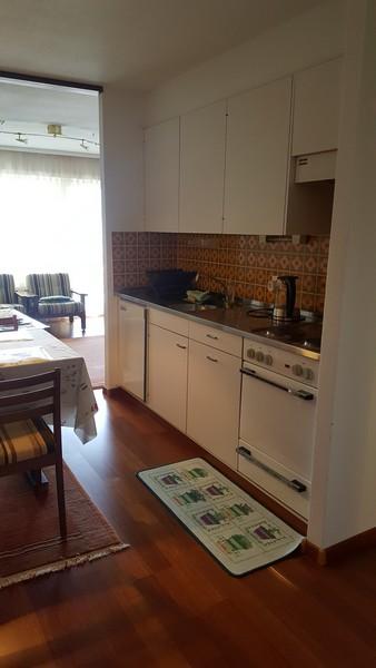 Haus Adlerhorst, schöne, helle 3.5-Zimmerwohnung mit Balkon süd-west 3954 Leukerbad
