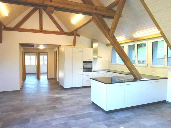 Grosse, neue Dachwohnung mit Terrasse 3418 Rüegsbach