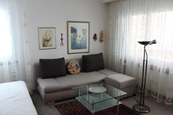 Haus Baron, grosse, helle 1.5 Zimmerwohnung mit zusätzlichem Schlafzimmer 2