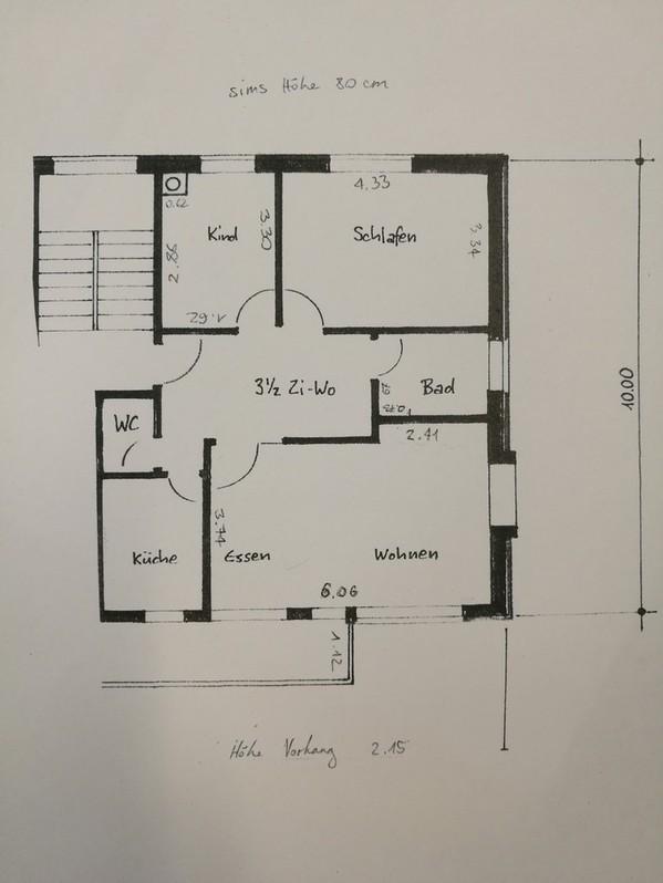3 1/2 - Zimmerwohnung in Dällikon zu vermieten 8108 Dällikon