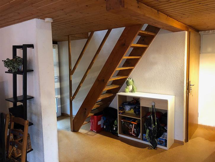 Charmante und originelle 4,5 Zi-Maisonette Dachwohnung am Bielersee 2