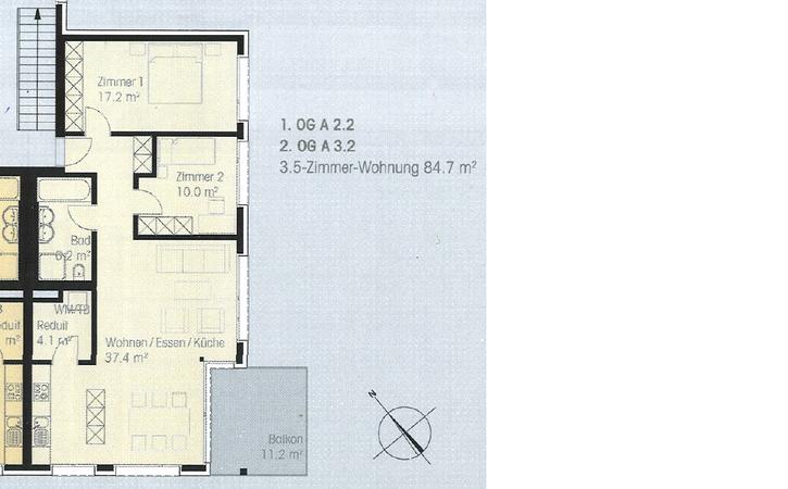 3.5-Zimmerwohnung an Toplage in Zürich-Affoltern 2