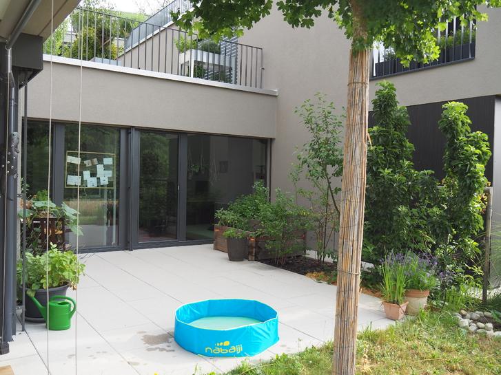 - befristet und wenn möglich möbliert zu vermieten- Eigentumswohnung mit Garten an der Aare.  3037 Herrenschwanden