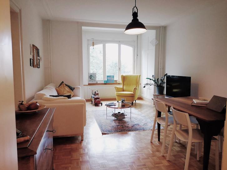 Charmante vollmöblierte 3 1/2 90m2 Altbau-Wohnung zur Untermiete. März 2020 - Ende Mai 2020 3
