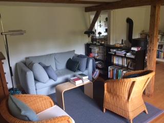 Lauschige 4 1/2 Zimmer Wohnung in Fachwerkhaus in Maugwil / Nähe Wil 2