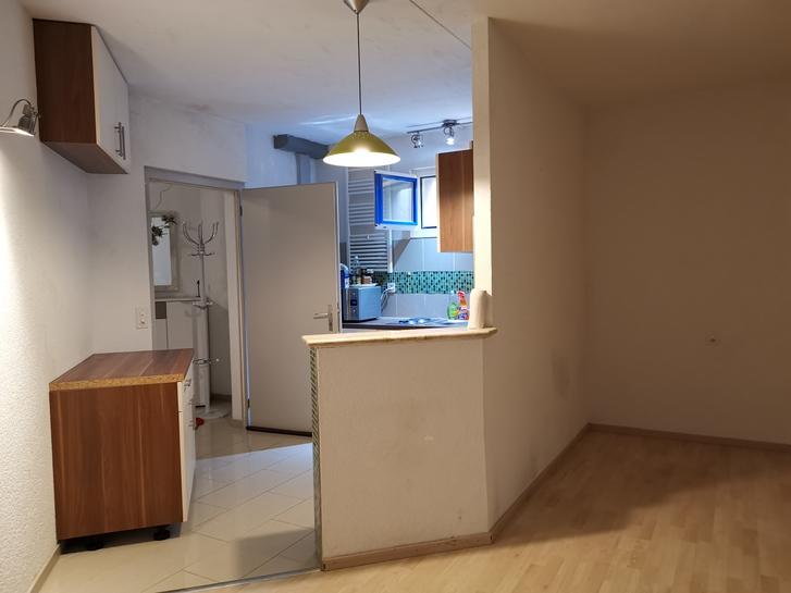 1 Zimmer Wohnung in der Nähe des Bahnhofes in Frick Frick