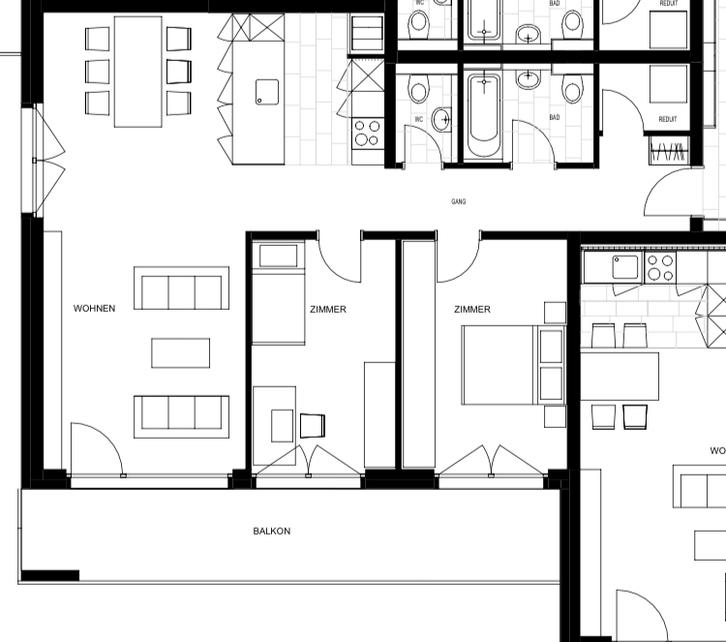 3.5 Zimmerwohnung Visp West 3