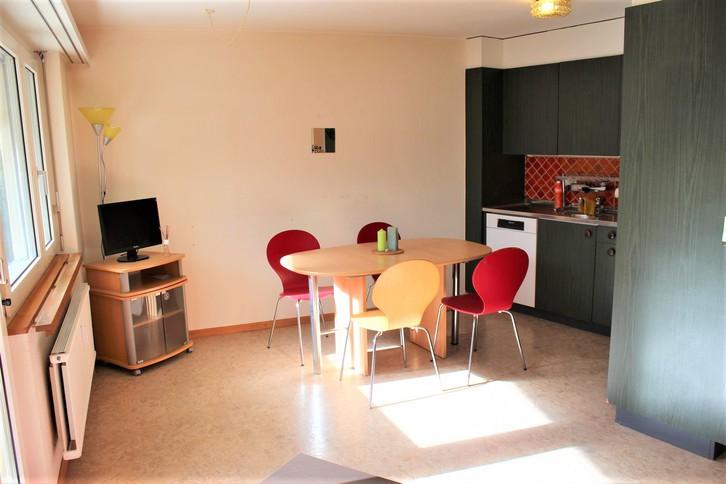 Haus Petit Trianon, helle 2.5-Zimmerwohnung mit grosser Terrass, ruhig und wunderschöner Blick 3954 Leukerbad