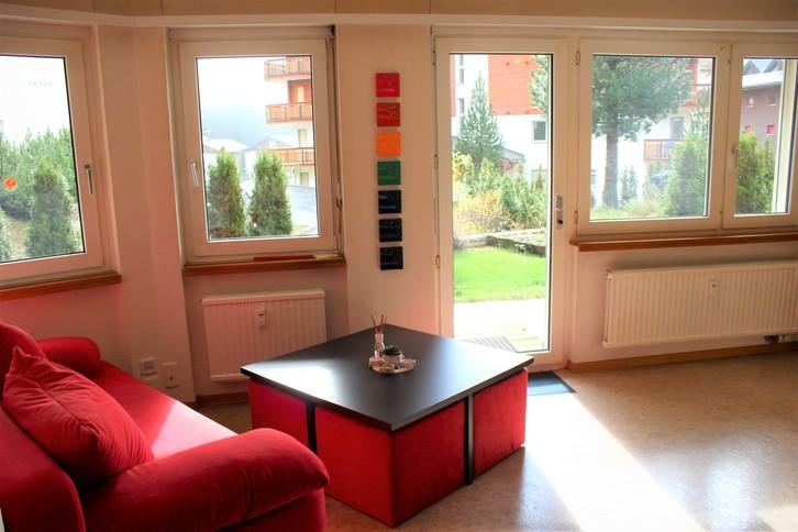 Haus Petit Trianon, helle 2.5-Zimmerwohnung mit grosser Terrass, ruhig und wunderschöner Blick 2