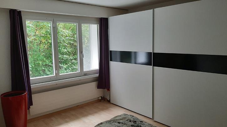 Möblierte 3 ½-Zimmer-Wohnung mit Gartensitzplatz und Autoeinstellplatz, befristet von April bis Juli 2020 4