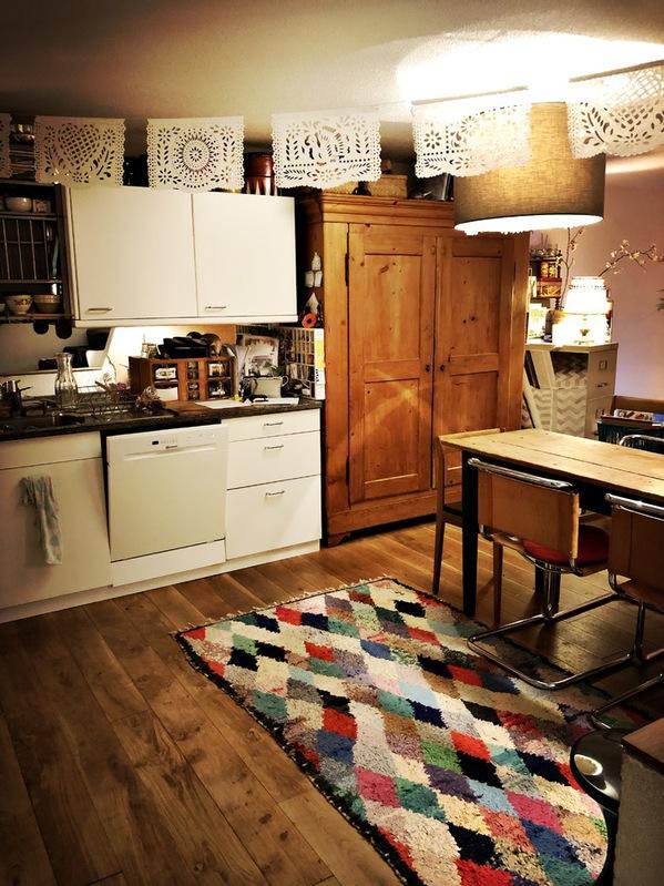 4,5 Zimmerwohnung, mit Garten, möbliert, befristet 6 Monate 2