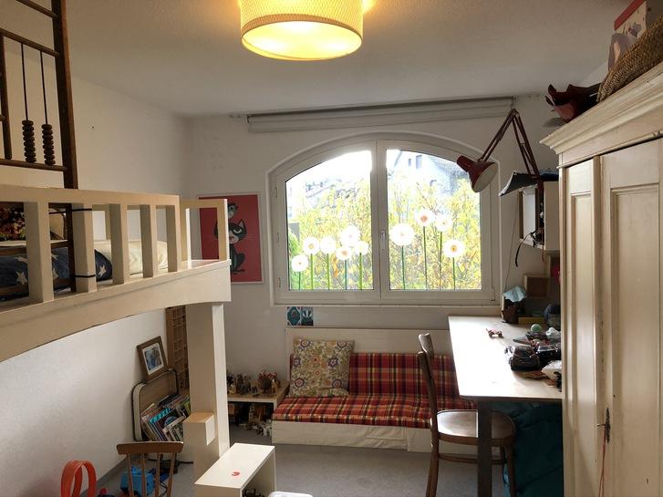 4,5 Zimmerwohnung, mit Garten, möbliert, befristet 6 Monate 3