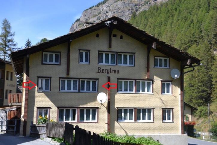 Heimelige 2.5 Zimmer-Ferienwohnung im Wallis / Saas-Balen  zu vermieten 3908 Saas-Balen