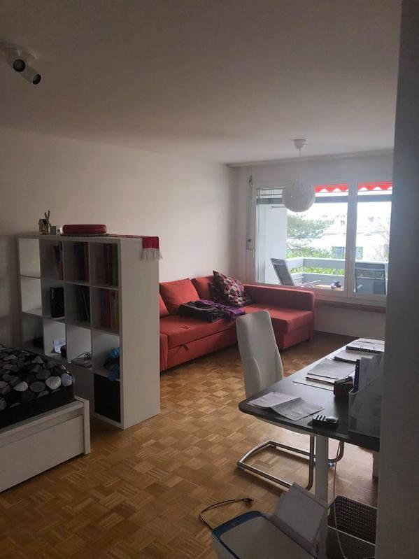 1 Zimmerwohnung Zürich , 1. OG , ca 39 m^2 3
