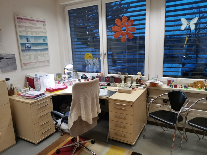 2 Büroräume 16m3.  3