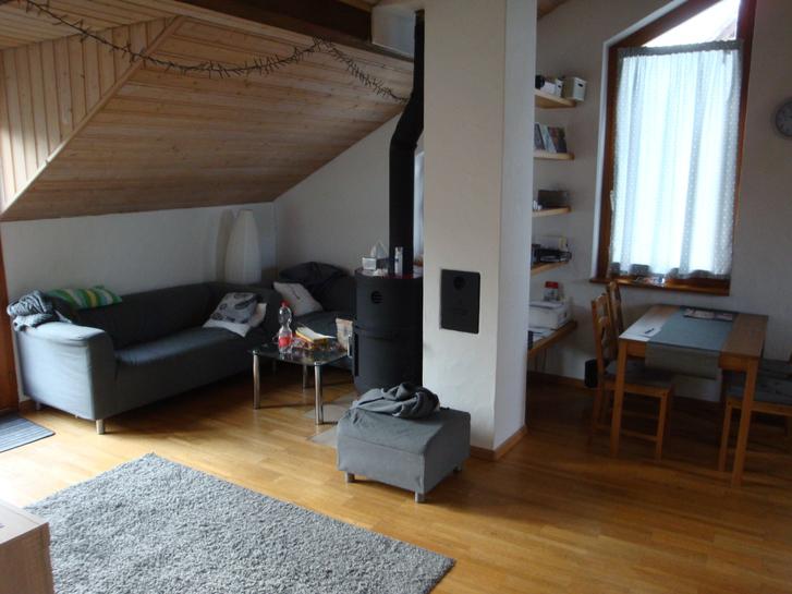 3-Zimmerdachwohnung in Leibstadt 2