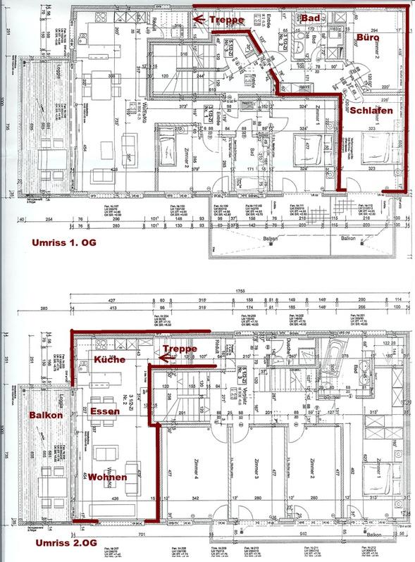 3 1/2 Zimmer Maisonette Wohnung in Ruswil 2