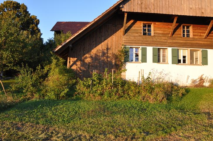 WG Zimmer in freistehendem Bauernhaus mit Garten Ueberstorf