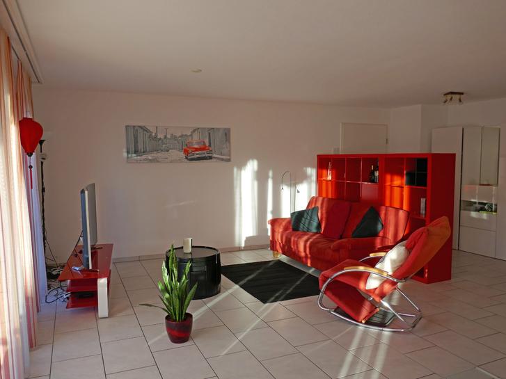 Zu vermieten in Hausen AG schöne 3 ½ Zimmer-Wohnung Hausen AG