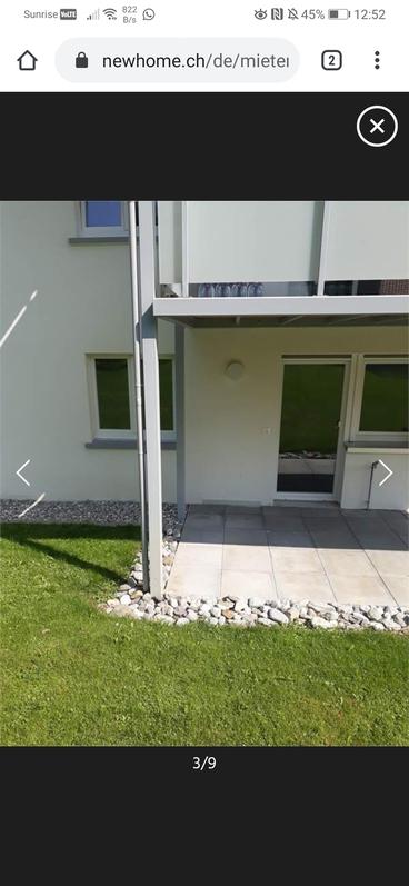 Schöne moderne 4 Zimmerwohnung mit Sitzplatz 2