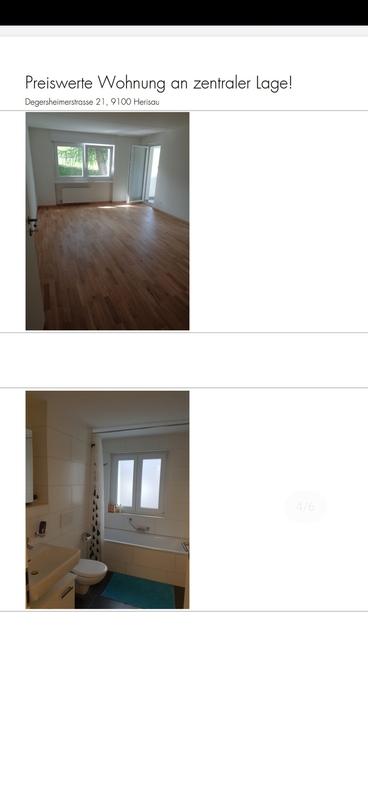 Schöne moderne 4 Zimmerwohnung mit Sitzplatz 4