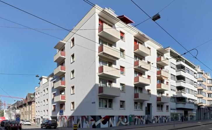 Sanierte 1.5-Zimmerwohnung. im 2.OG  4055 Basel