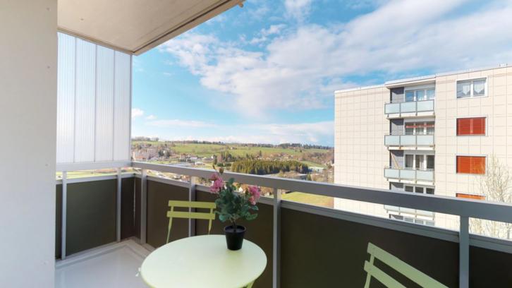 Appartement de 1.5 pièces rénové. au 3ème étage !!! 2300 La Chaux-de-Fonds