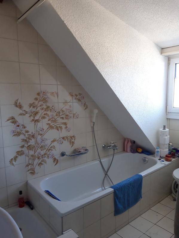 3.5-Zimmer Dachwohnung mit Garten zur mitbenützung 3