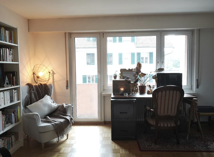 zentrale 1 Zimmer Wohnung mit Balkon  6003 Luzern