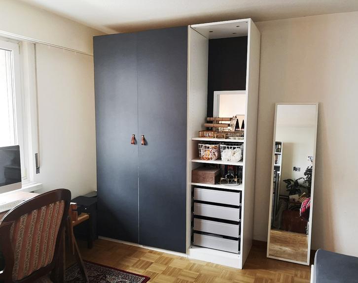 zentrale 1 Zimmer Wohnung mit Balkon  3