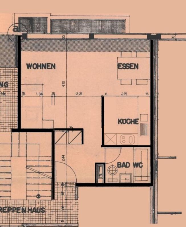 Moderne 1.5-Zimmerwohnung im Breitenrain-Quartier ! 2