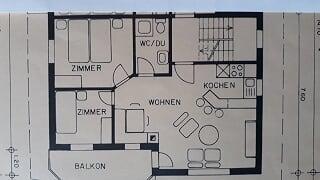 3 Zimmerwohnung in Obersaxen 2