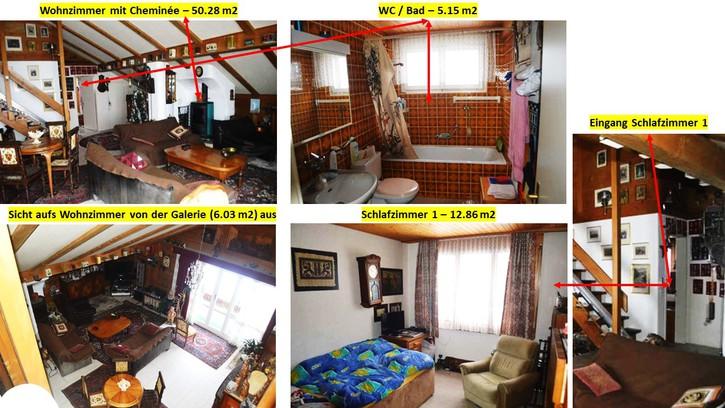 Traumhafte 5 1/2 Zimmer Maisonette Wohnung in Goldiwil 3