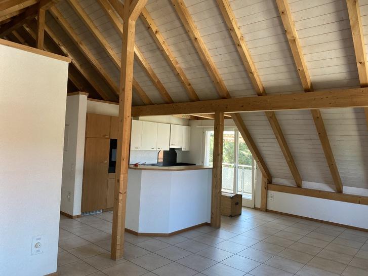 2 ½ Zimmer-Dachwohnung 20 Minuten von Bern 3177 Laupen