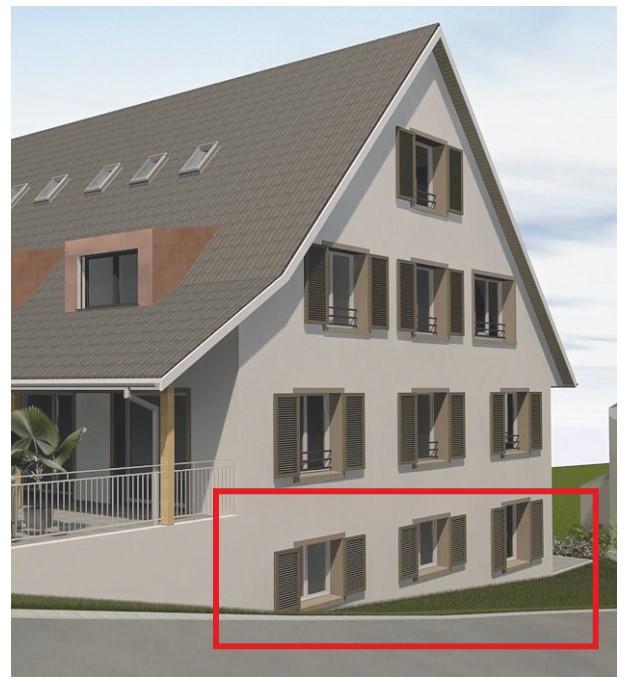 Zeitgemäss Wohnen im Dorf 3.5 Zimmer Maisonette Erstbezug  2