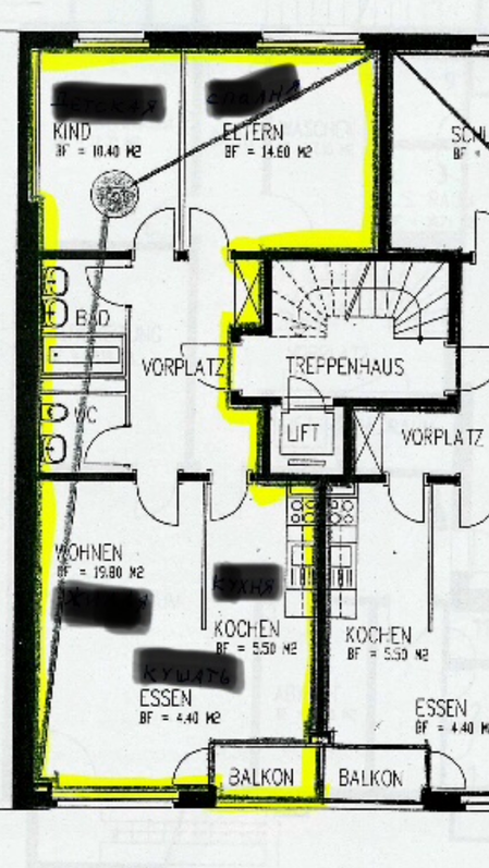 3,5 Zimmer Wohnung im Matthäus-Quartier 4057 Basel