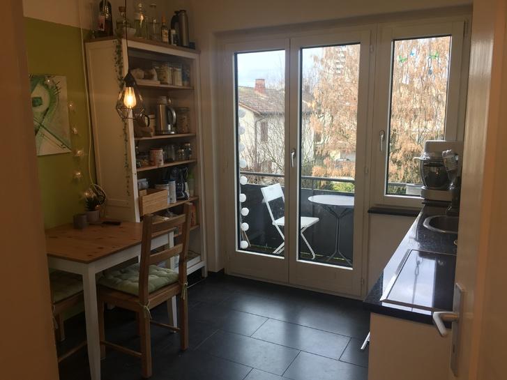 Helle, zentrale 3,5 Zimmer Wohnung mit Balkon und Benützung Garten Bahnhofstrasse 65, 5430 Wettingen 5430