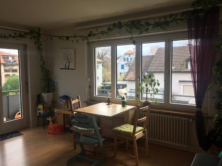 Helle, zentrale 3,5 Zimmer Wohnung mit Balkon und Benützung Garten Bahnhofstrasse 65, 5430 Wettingen 4