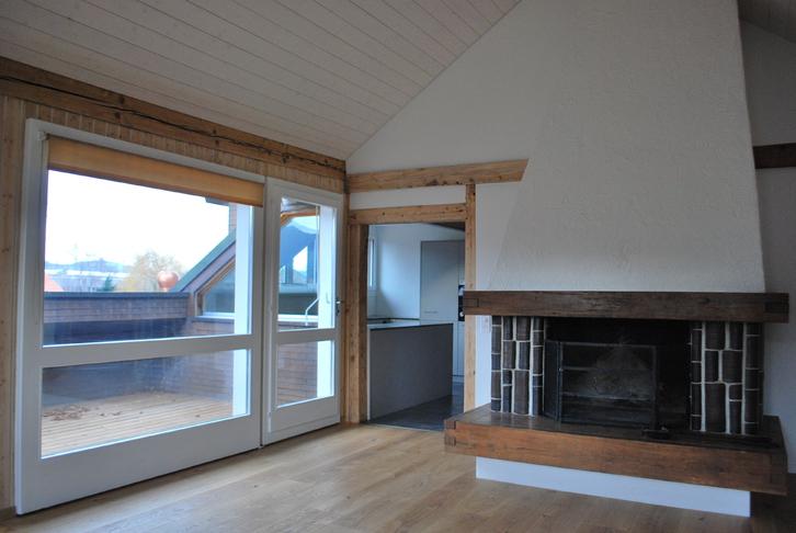 sehr sonnige Dach-Wohnung 107 m2 3613 Steffisburg