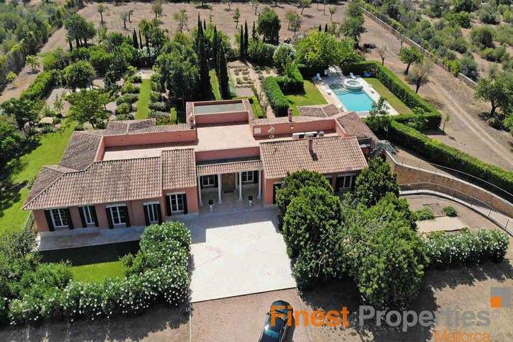 Villa im eleganten Bungalowstil auf Mallorca zu verkaufen 07183 Costa de la Calma,  Mallorca