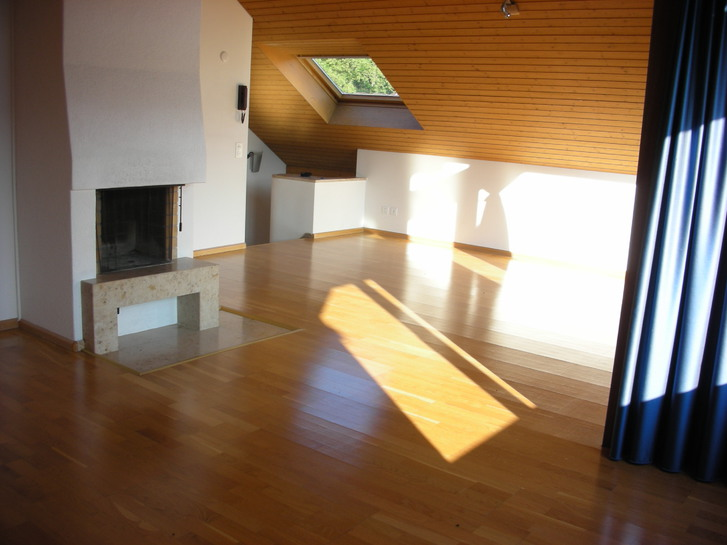 Sonnige Dachwohnung in Ettingen BL mit Sicht auf den Wald 3