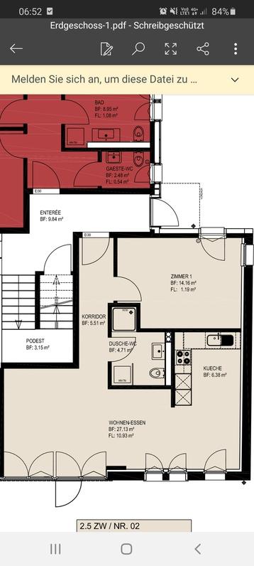 2 Zimmerwohnung Stadel